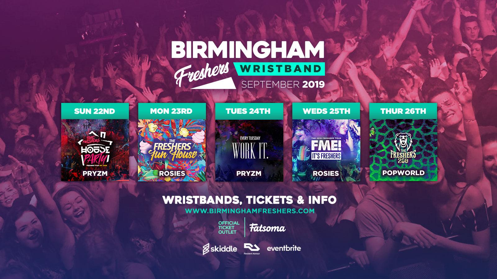 Ultimate Freshers Drinking Game Guide - Birmingham Freshers 2019