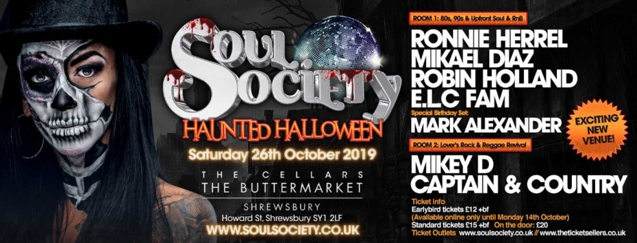 Soul Society Haunted Halloween