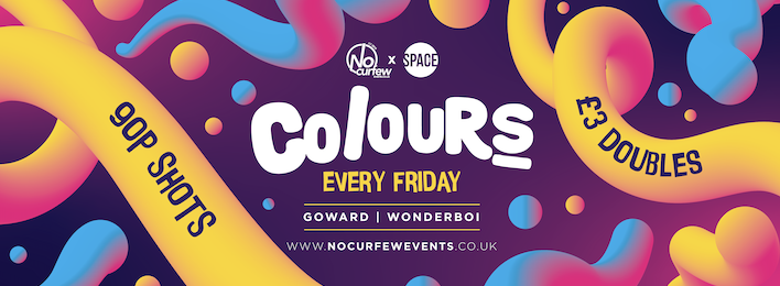 Colours Leeds at Space :: Season Opening Party :: Fri 27th Sept :: Sponsored by Sugarhouse Properties!