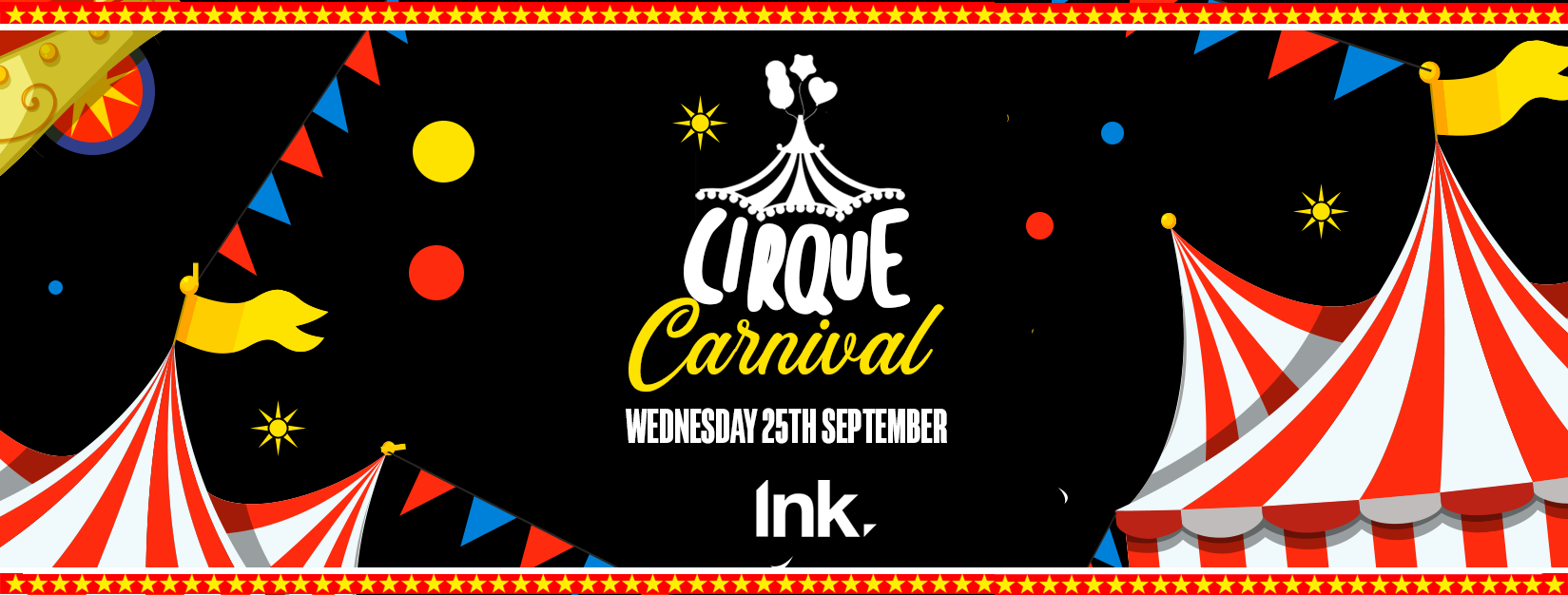 Cirque – The Freshers vs Returners Carnival