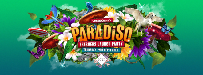 Paradiso - Freshers Launch Party