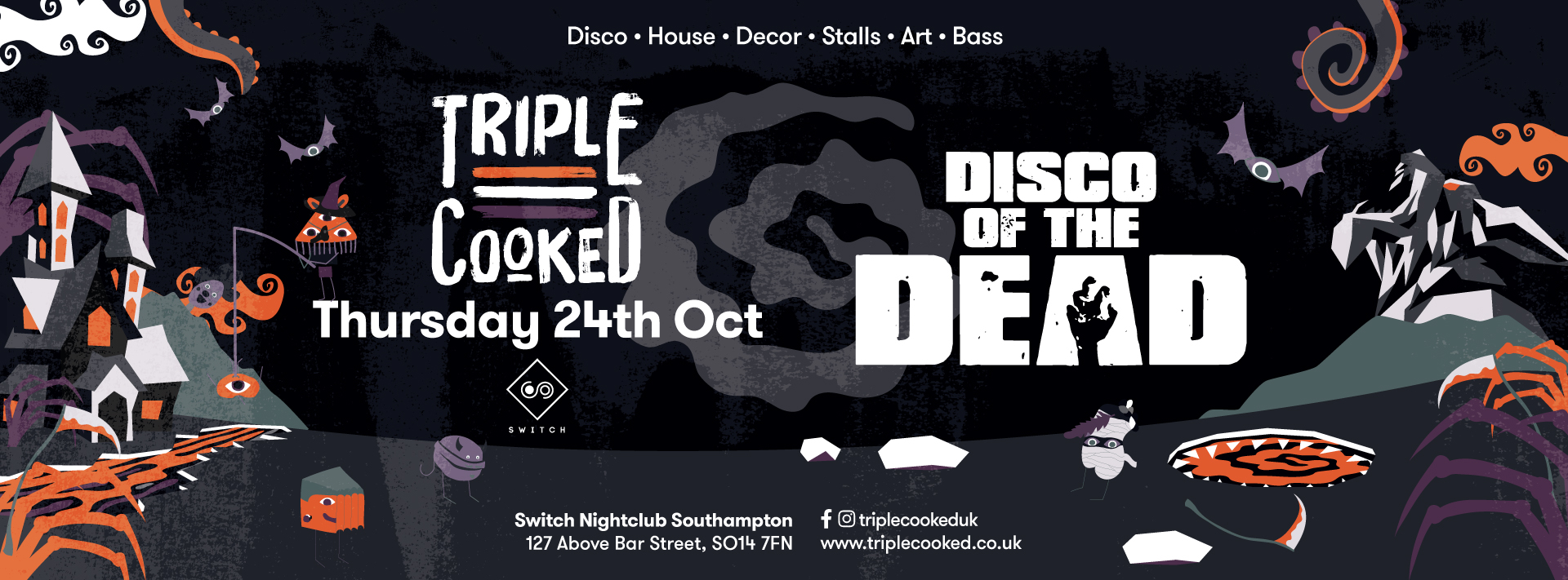 Triple Cooked: Southampton – Disco of the Dead