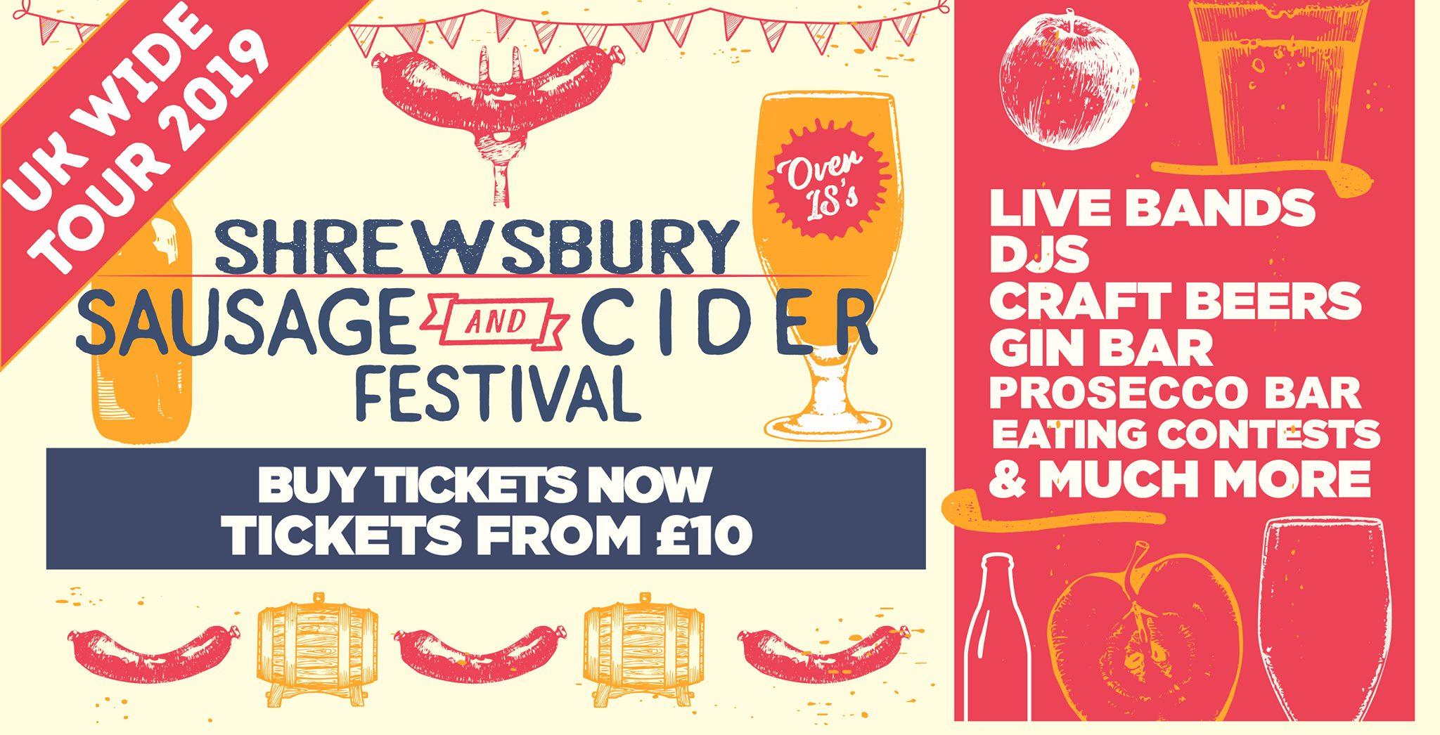 Shrewsbury Sausage & Cider Festival