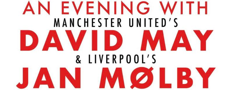 An Evening with David May & Jan Mølby