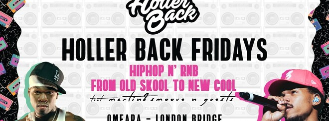 Holler Back - HipHop N' R&B  | London Freshers Launch