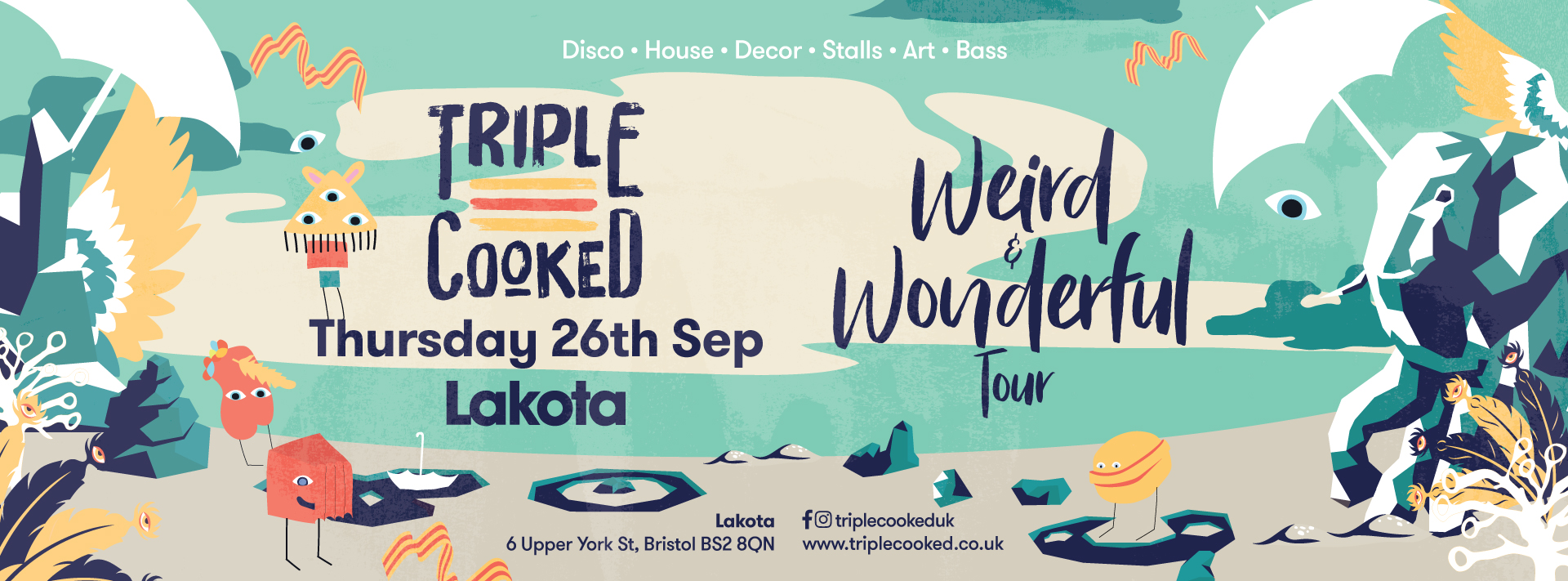 Triple Cooked: Bristol – Weird & Wonderful