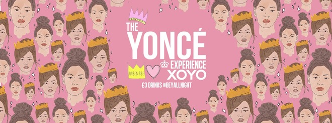 The Yoncé Experience - September | Freshers 2019 at XOYO London