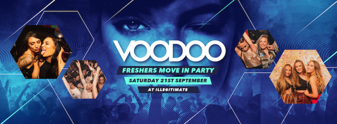 Voodoo - Freshers Move In Party