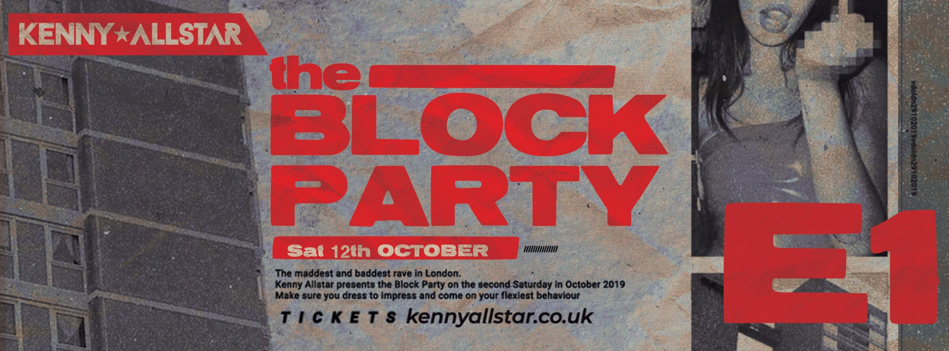 Kenny Allstar Presents: The Block Party + Special Guests
