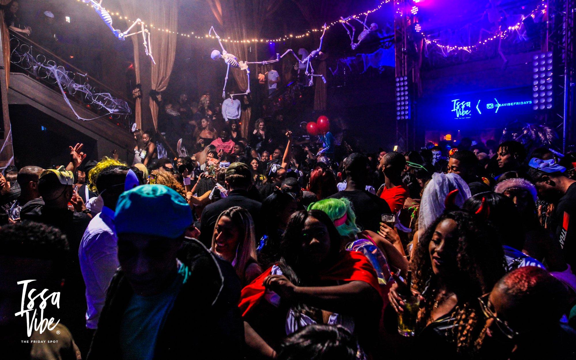 Issa Vibe – London's Biggest Halloween Party: HipHop, RnB, Bashment & Afrobeats!