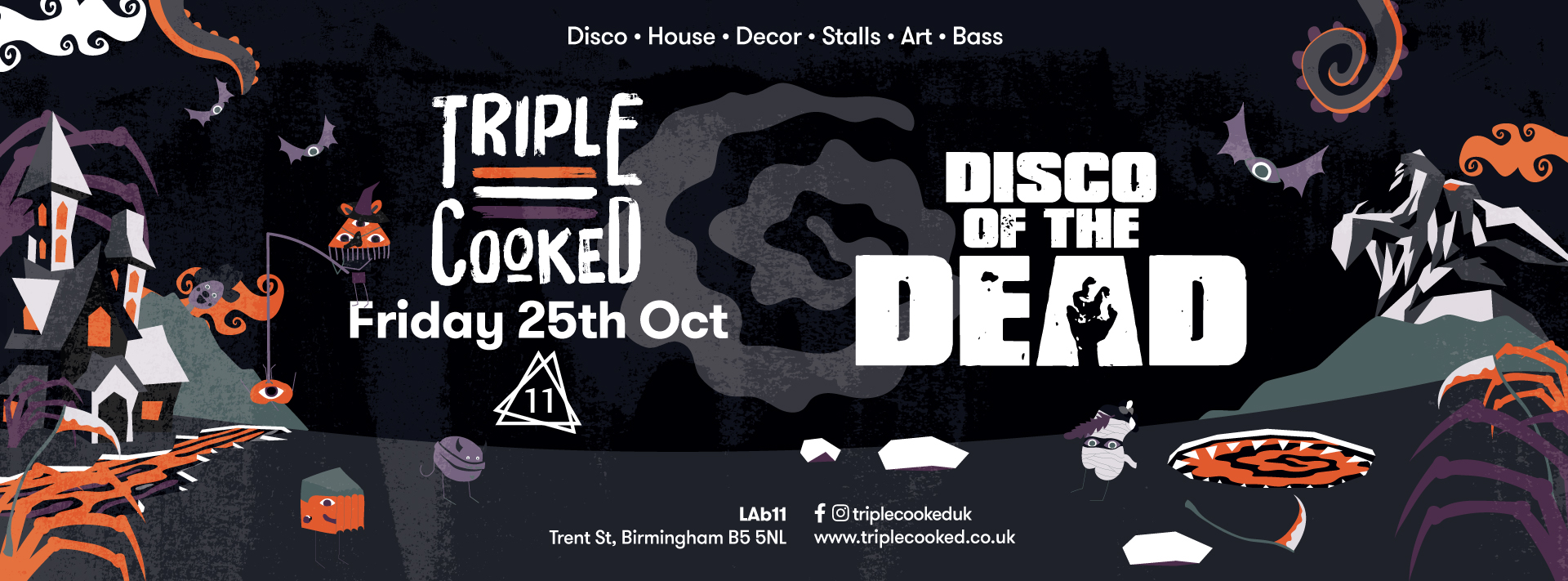 Triple Cooked: Birmingham – Disco of the Dead