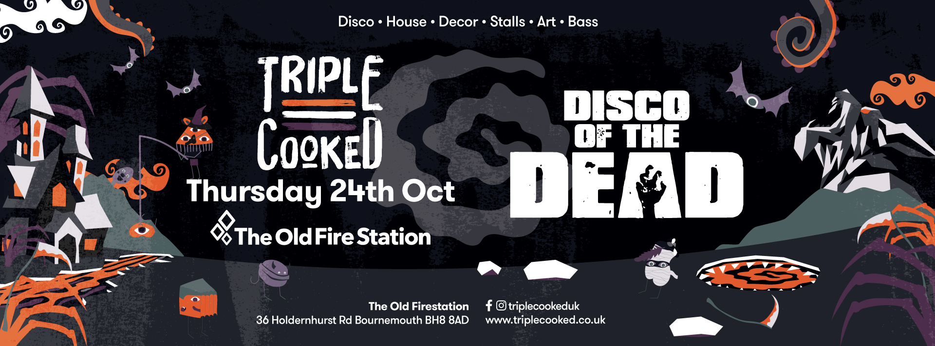 Triple Cooked: Bournemouth – Disco of the Dead