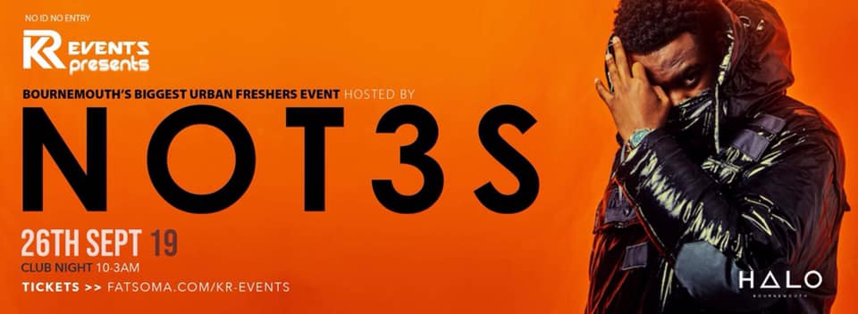 Not3s Live This Thursday FINAL 200 TICKETS!