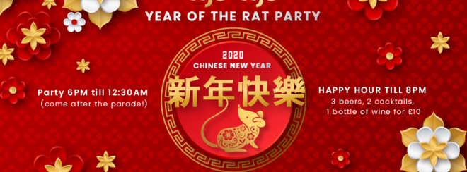 Year of the Rat | Chinese New Year at Tiger Tiger