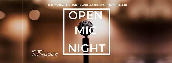 City Academy Open Mic Night