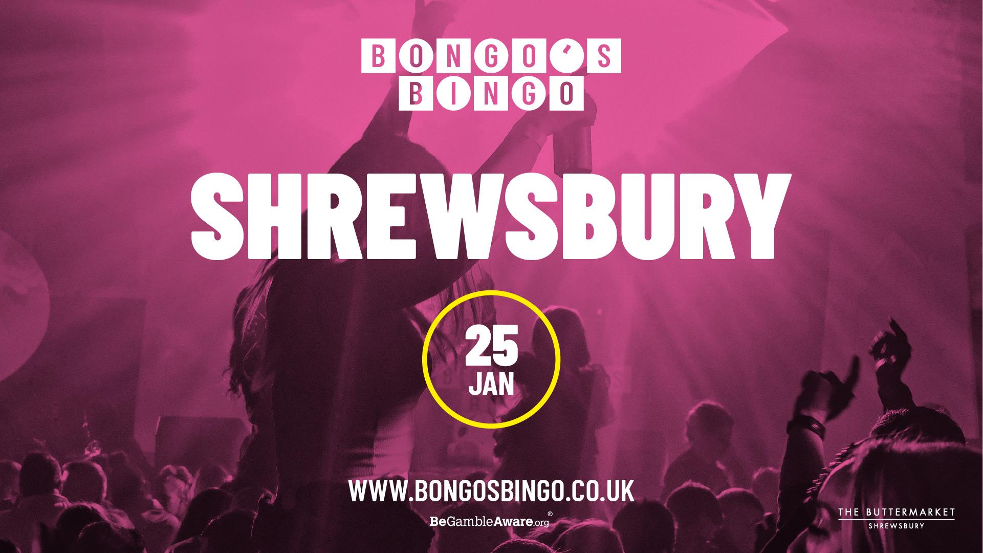 Bongo's Bingo – SOLD OUT!
