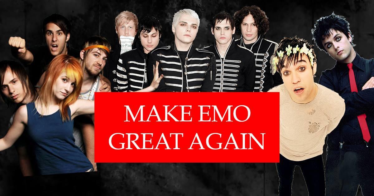 Make Emo Great Again – Oxford