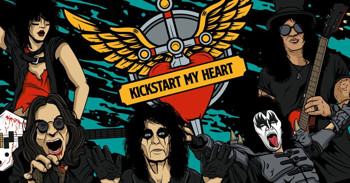 Kickstart My Heart – 80s Metal & Power Ballads Night (Edinburgh)