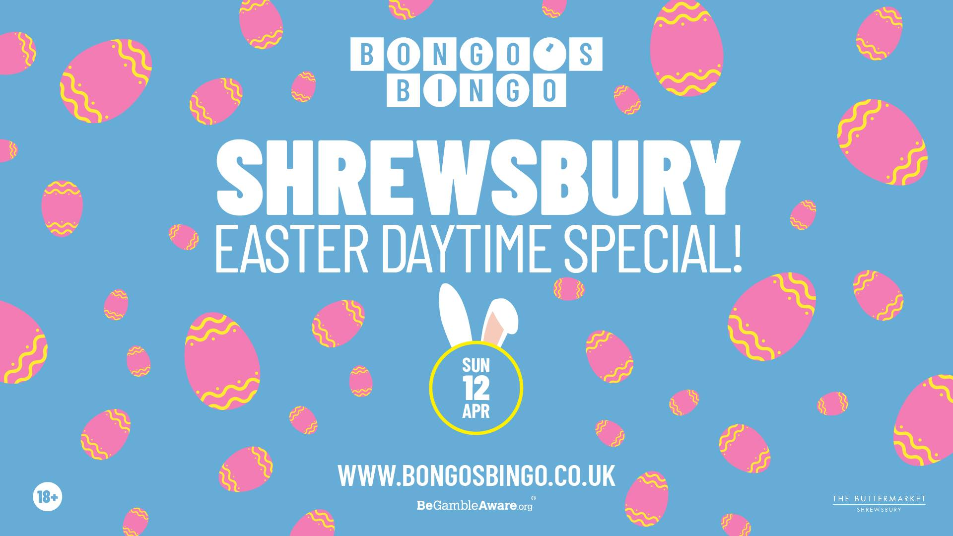 Bongo's Bingo Easter Daytime Special – POSTPONED