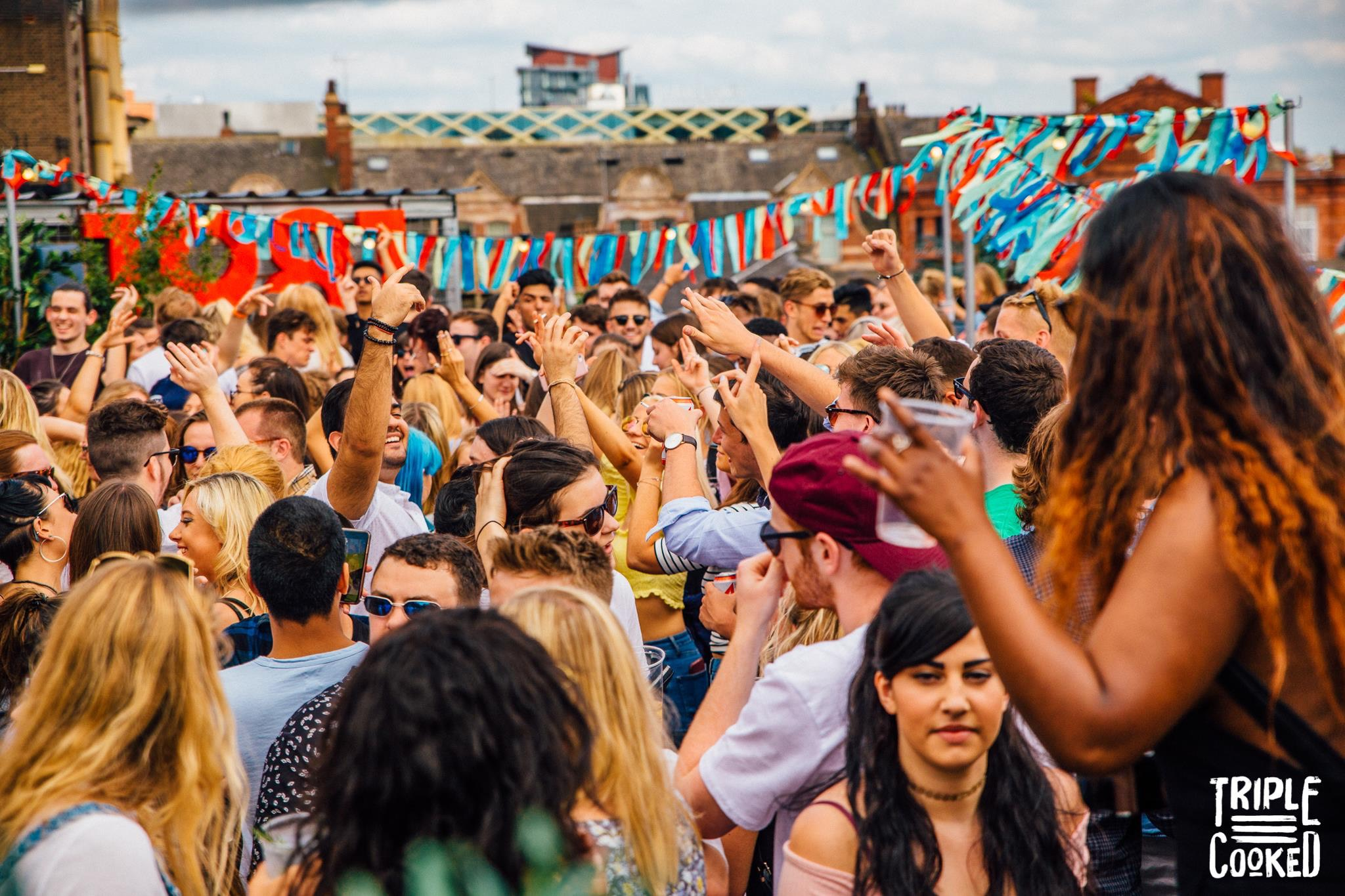 Triple Cooked: Leeds – Rooftop party
