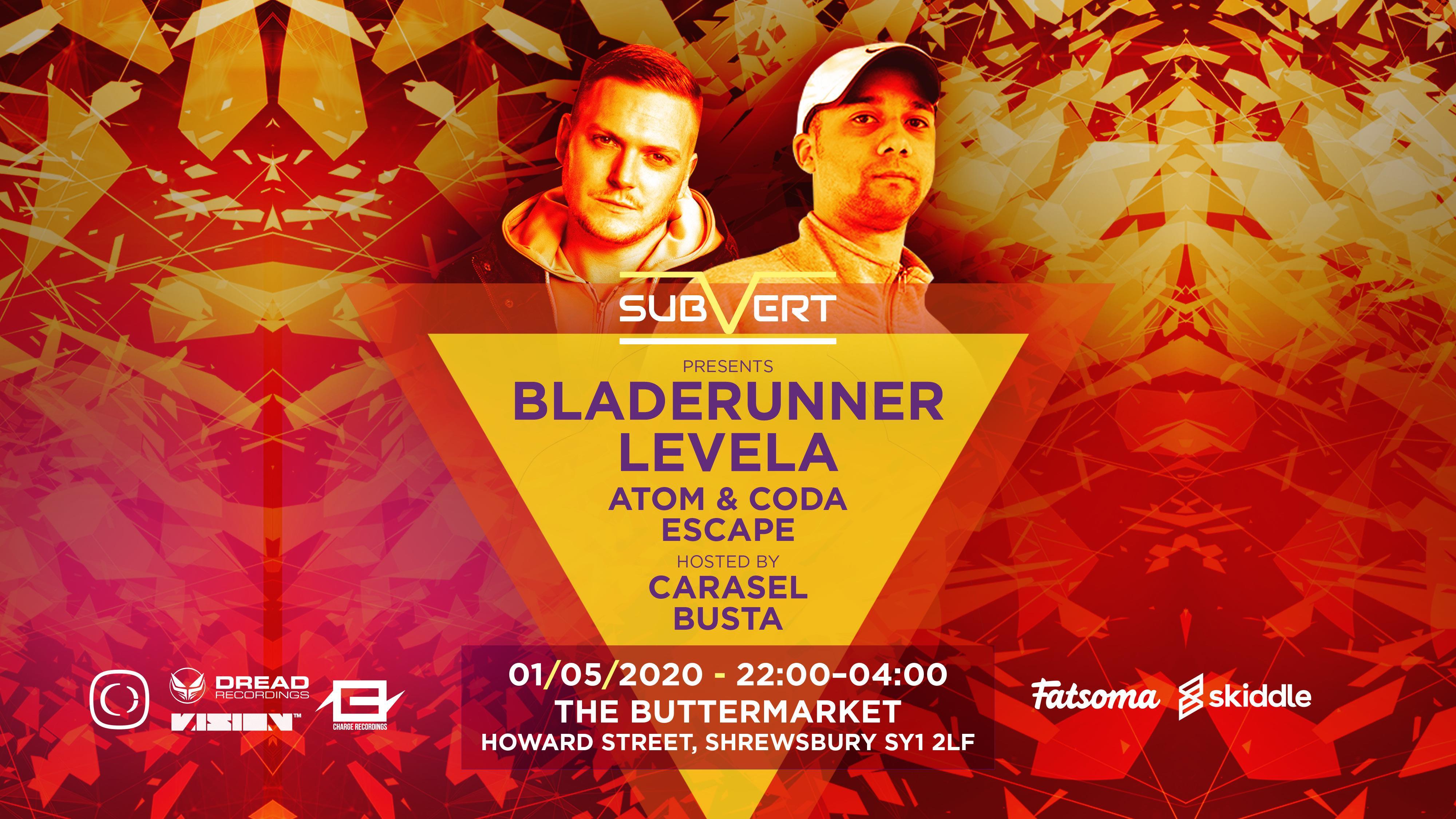 Subvert Presents Bladerunner & Levela