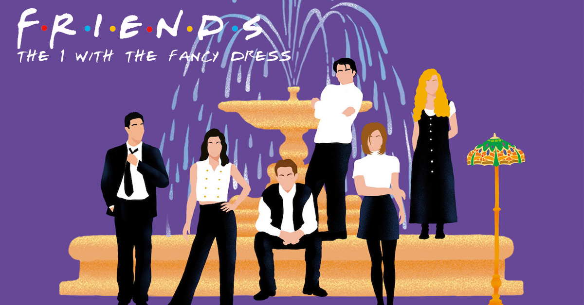 Friends Night – The One With The Fancy Dress (Brighton)