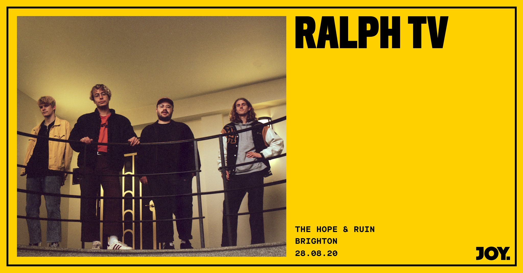 *CANCELLED* Ralph TV + Guests