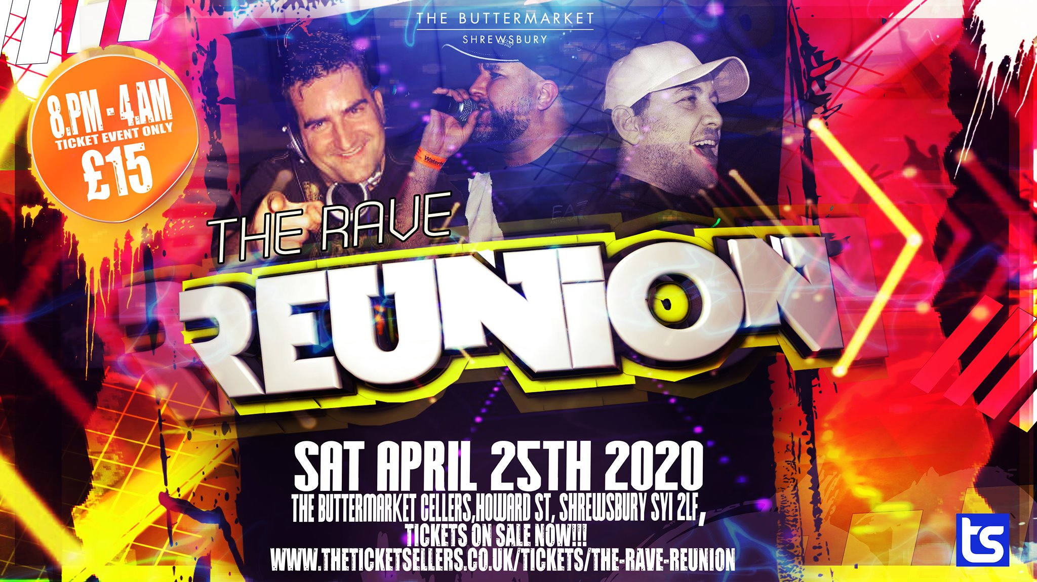 The Rave Reunion – POSTPONED