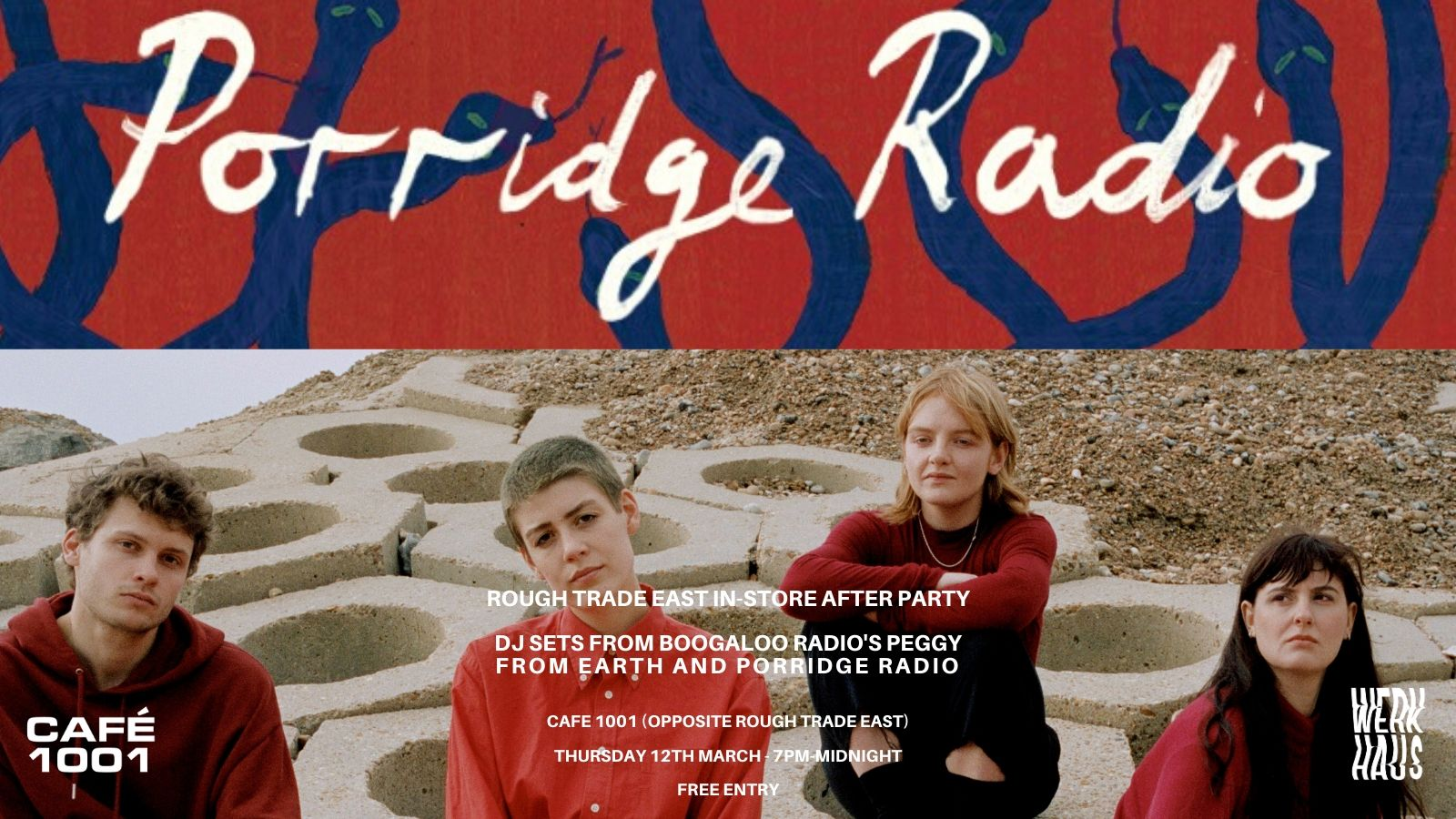 Rough Trade East In Store after-party: Porridge Radio