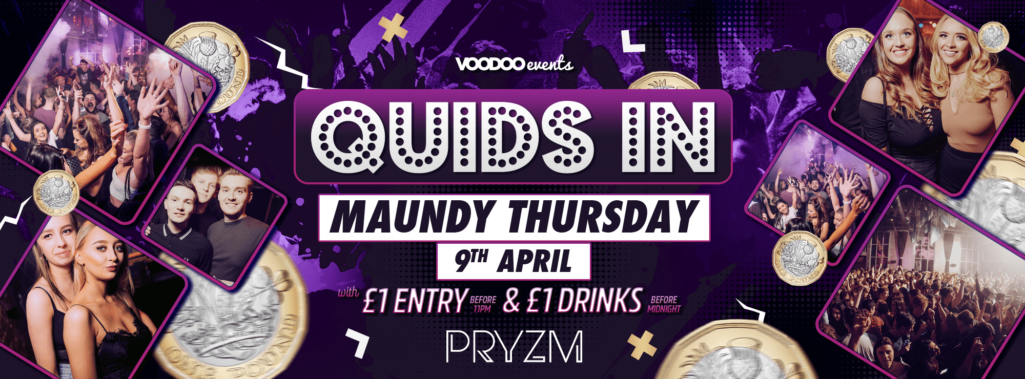 Quids In Maundy Thursday Special!