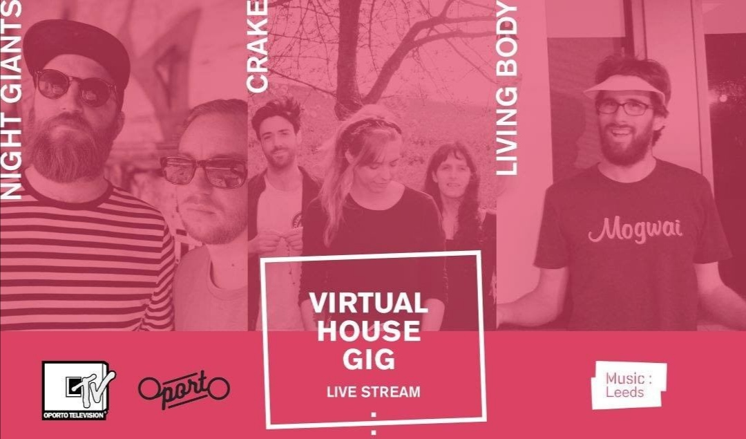 Music:Leeds presents Crake, Living Body & Night Giants #saveourvenues livestream