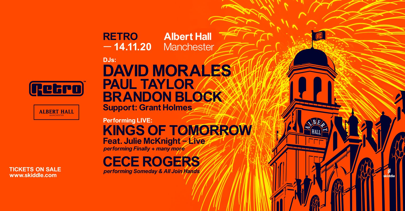 Retro at Albert Hall