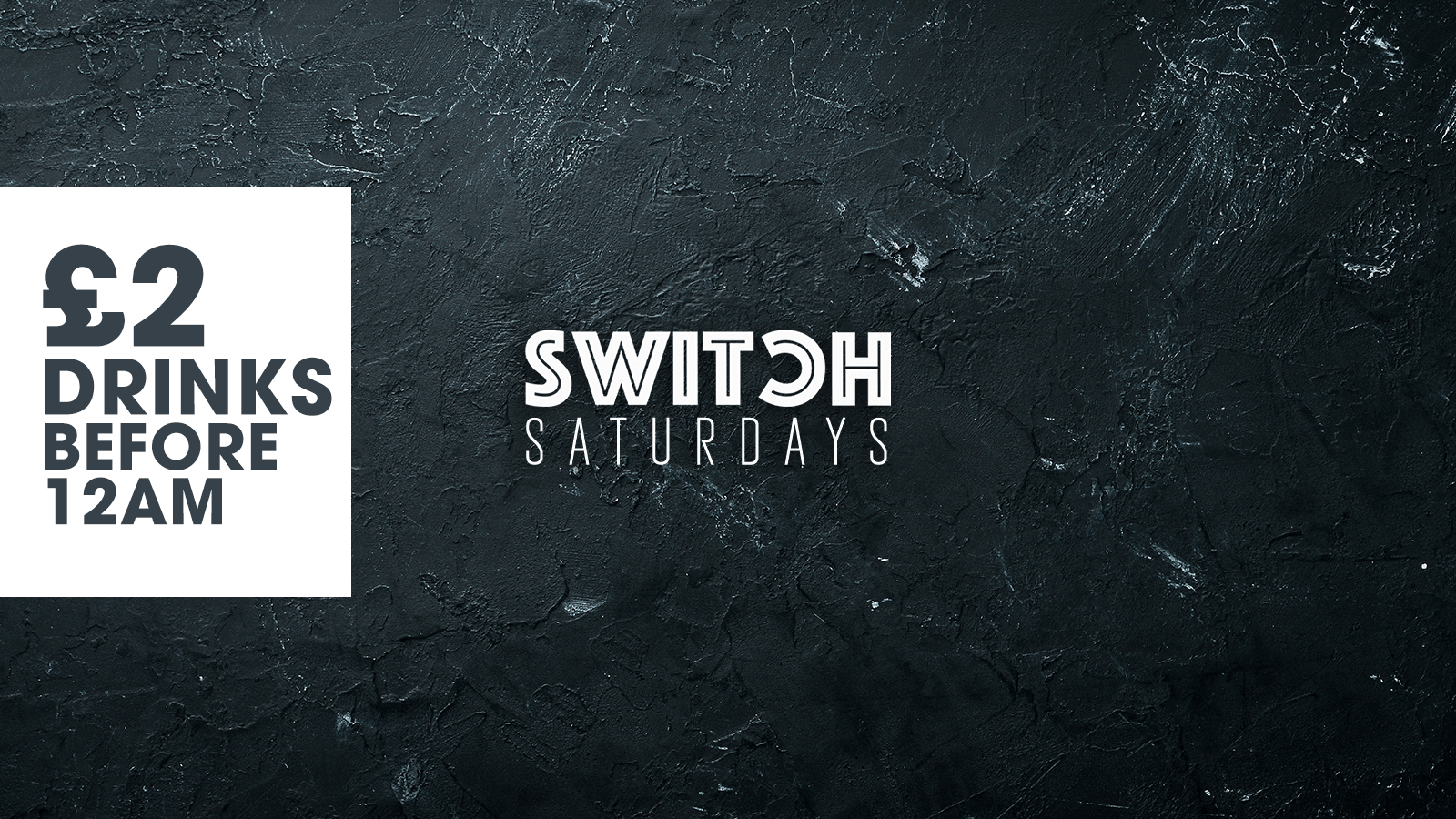 SWITCH is BACK – The Launch Event – Switch Saturdays