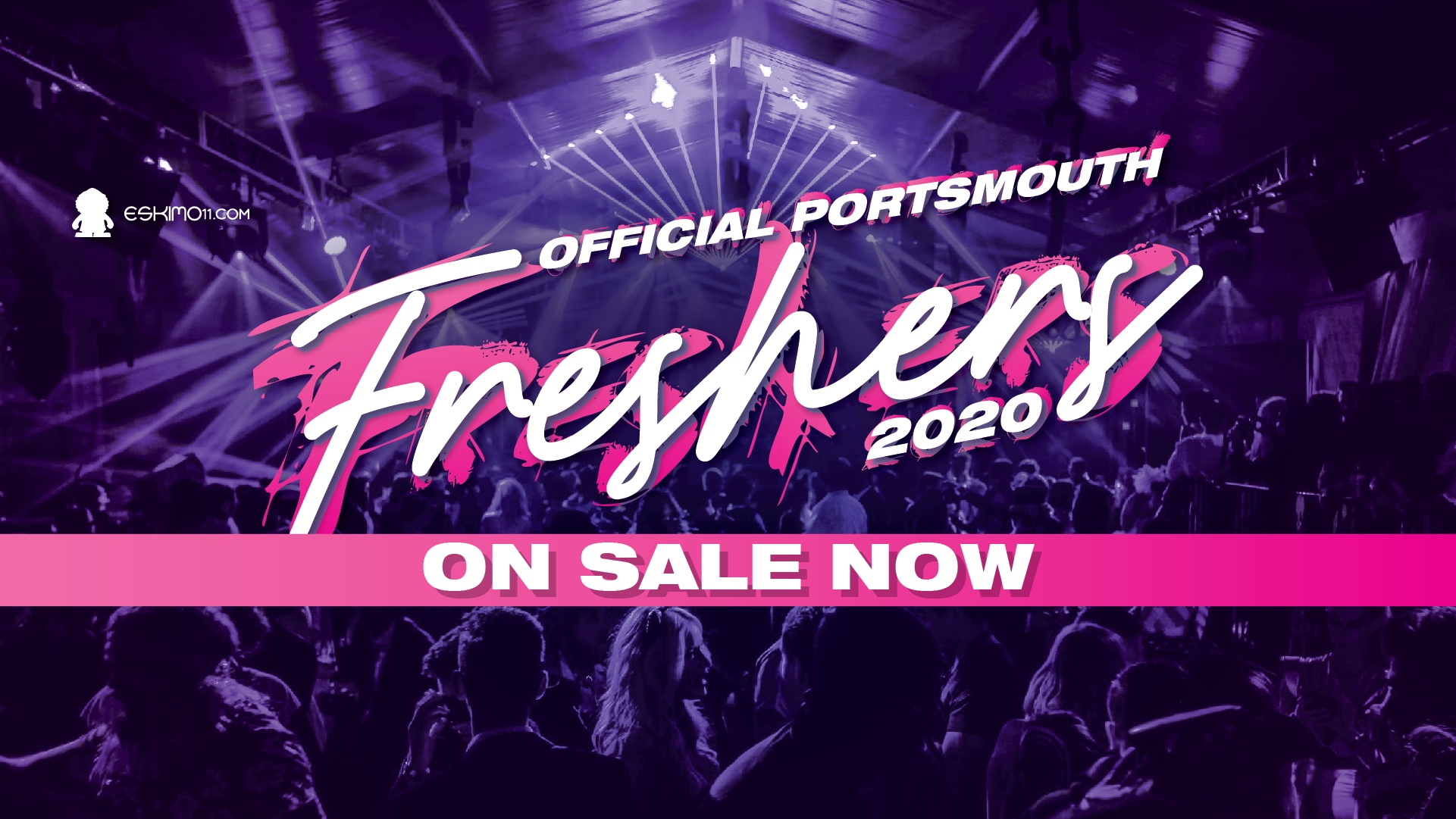 Official Portsmouth University Freshers Pack 2020 inc Freshers Ball