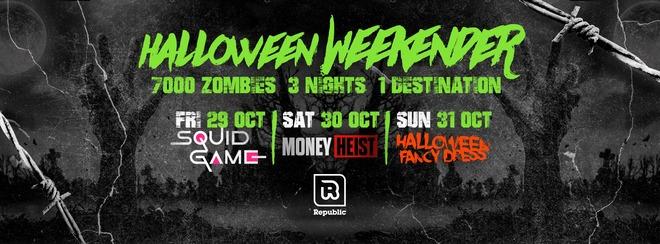 Halloween Weekender Pass - 4 Nights / 1 Ticket