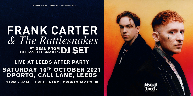 Frank Carter & the Rattlesnakes DJ set