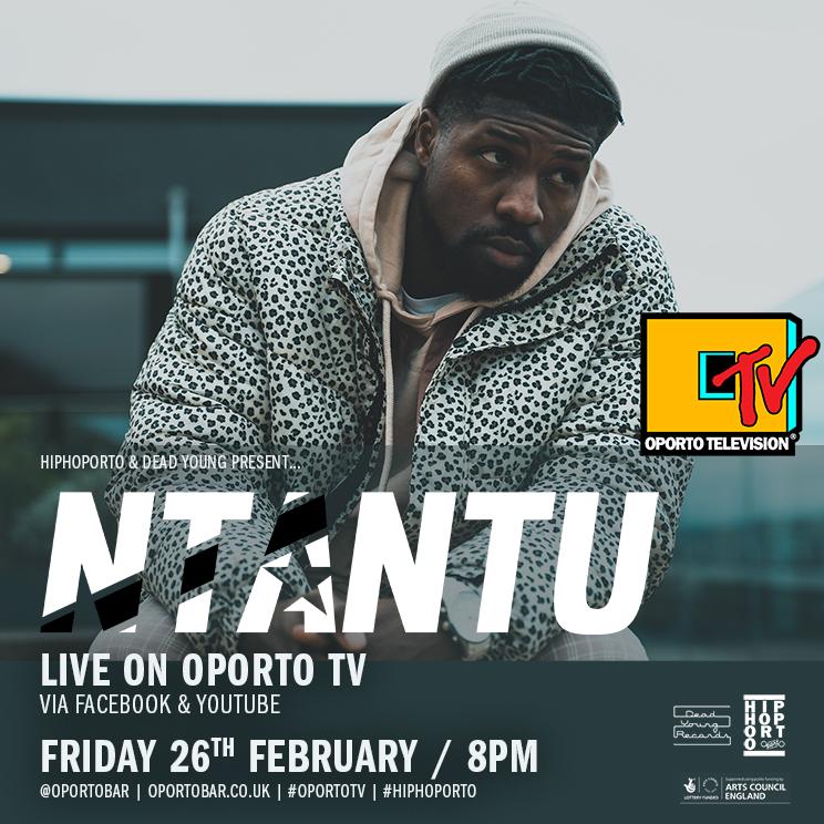Ntantu live on #OportoTV