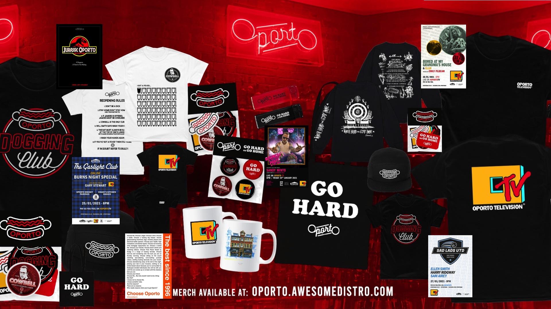 Oporto merch sale on now!