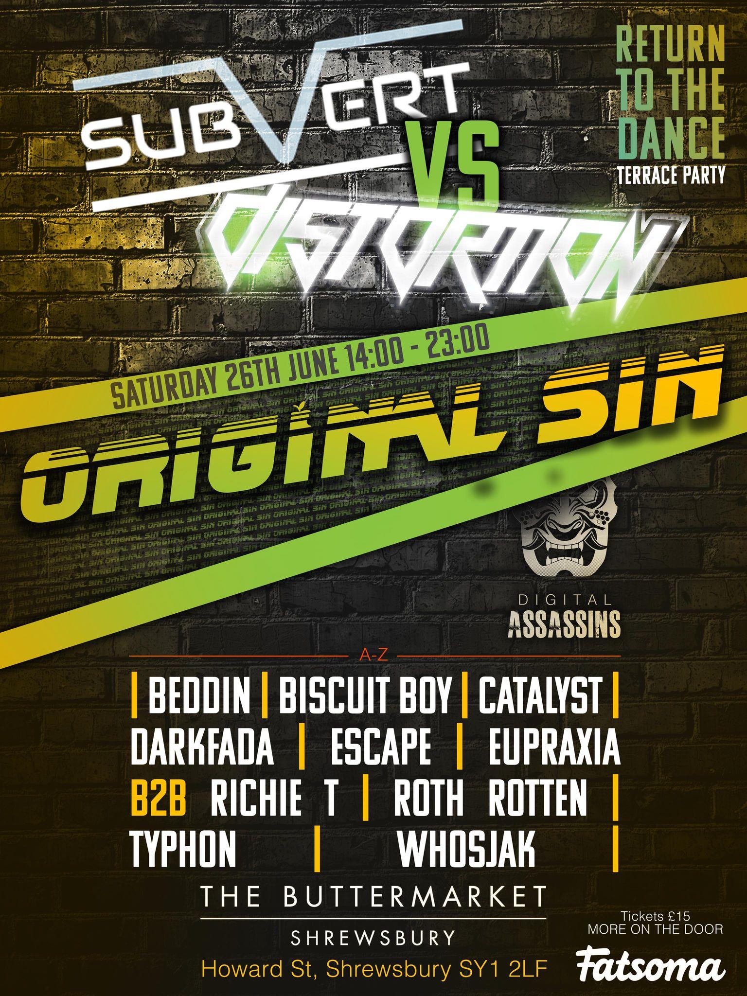 Subvert vs Distortion with Original Sin