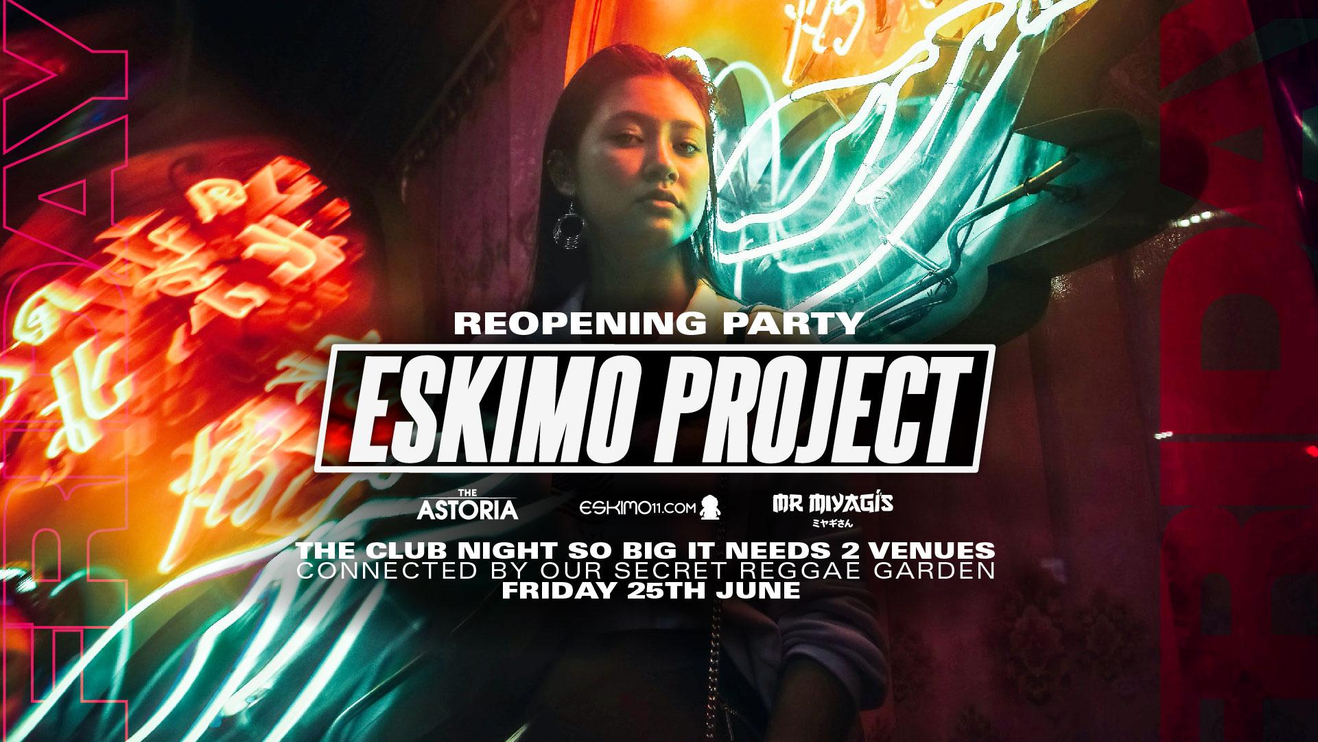 The Eskimo Project Returns – Astoria and Mr Miyagis