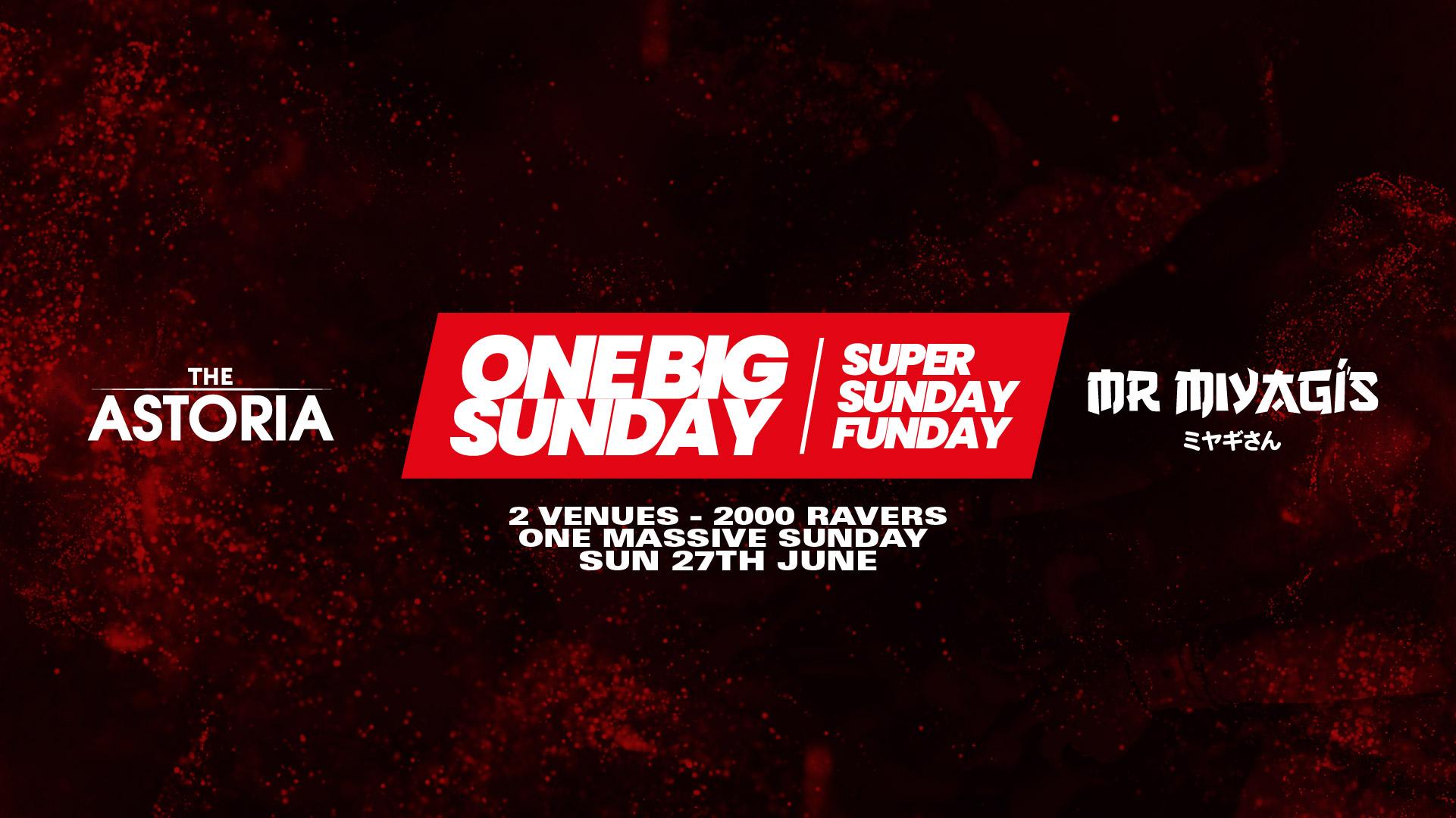 End of Lockdown Super Sunday – 2000 Ravers – The Astoria and Mr Miyaggis