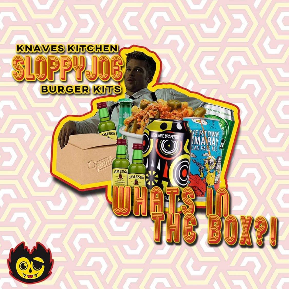 Knave's Kitchen at home burger box launch