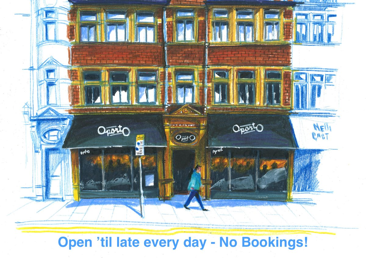 Walk ups only – no bookings!