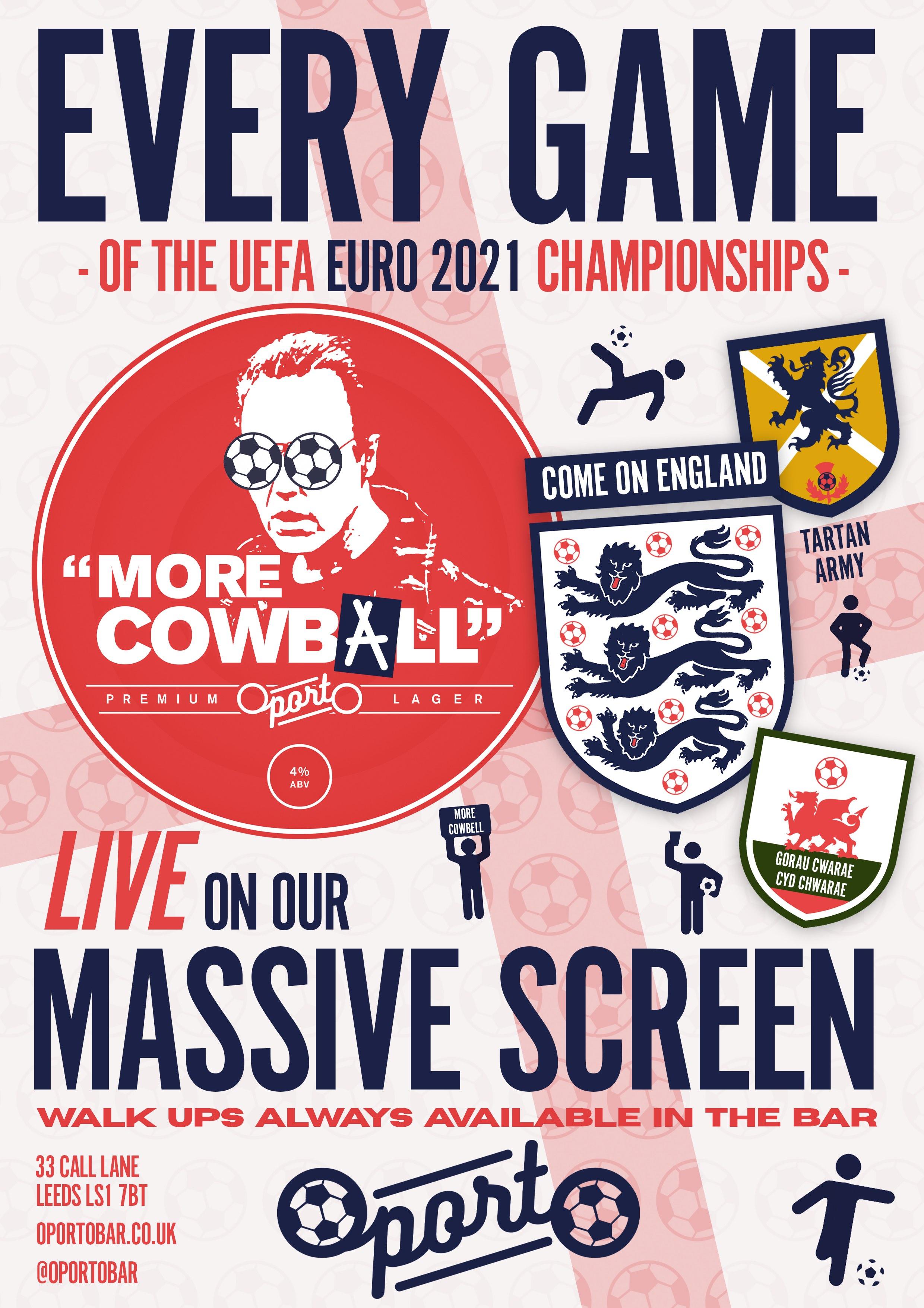 Euro 2021 live at Oporto