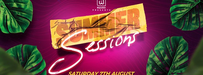 Summer Sessions feat Ryan Arnold, DJ Dre, OPD & Rachel Rodigruez - Tickets from ONLY £5!