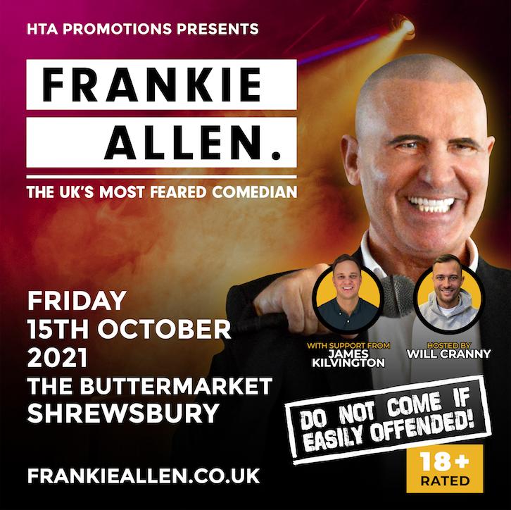 Frankie Allen – The UK's most feared comedian