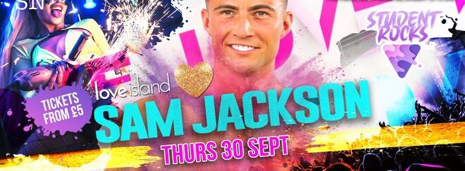 STUDENT ROCKS w/ SAM JACKSON from LOVE ISLAND!