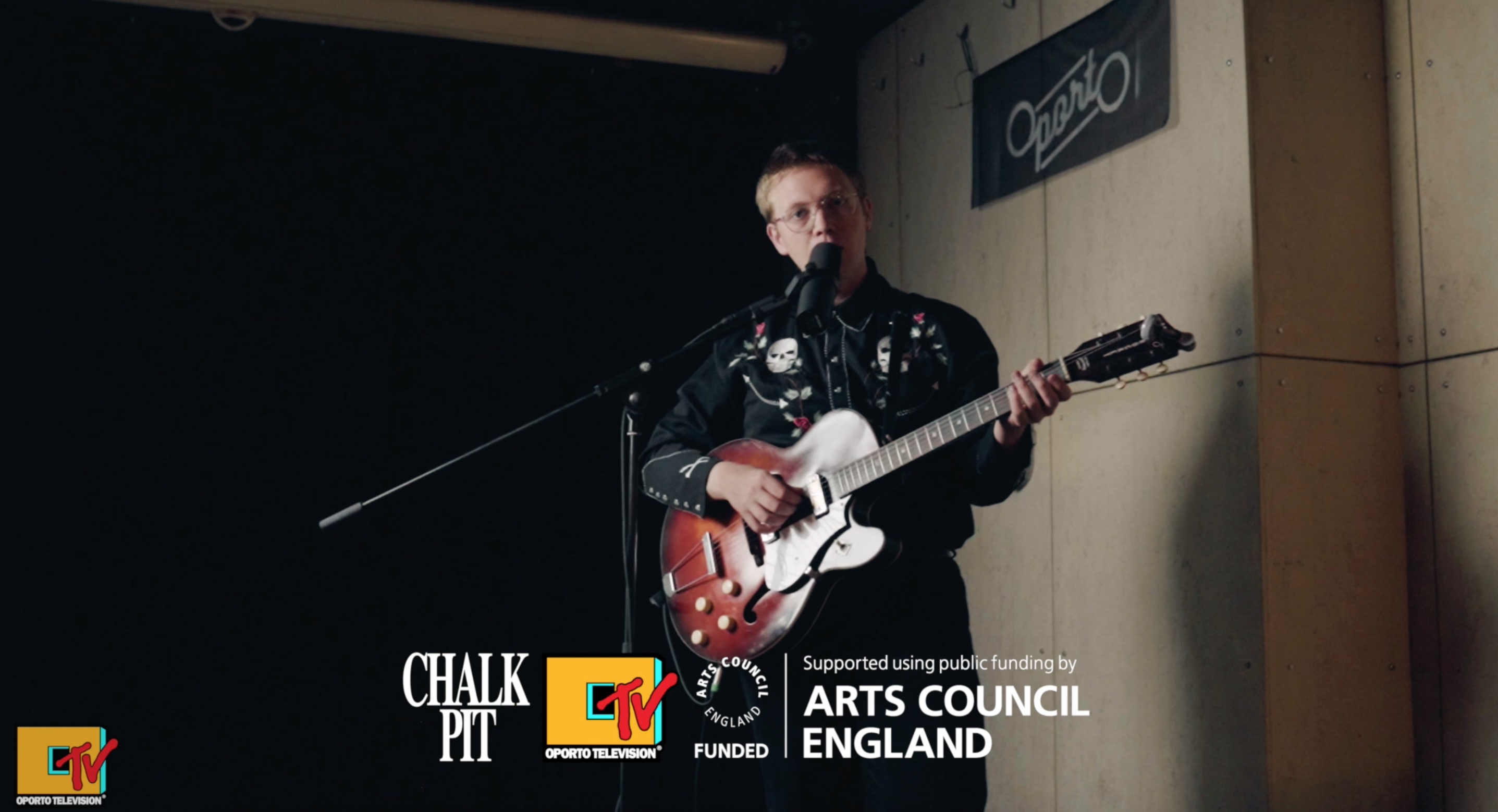 The Howl & The Hum (Sam Solo) session by Chalkpit Records on #OportoTV